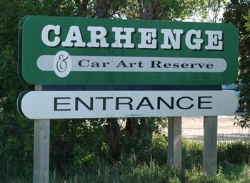 Carhenge Entrance