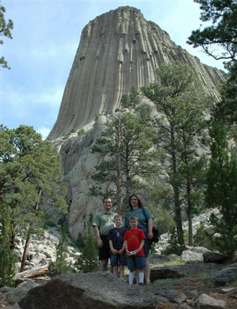 Rowlands at Devils Tower
