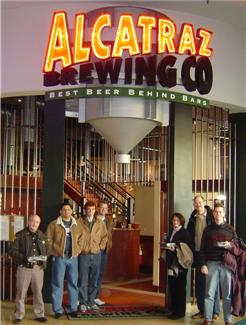 Alcatraz Brewing Company - Circle Centre Mall