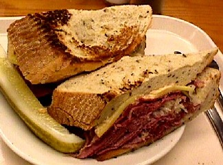 Shapiro's Delicatessen: Reuben from Shapiro's Downtown